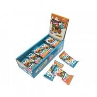 Протеиновые конфеты Bombbar лён, фундук, финик (18г)